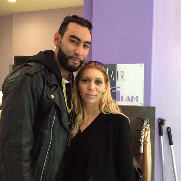 La Fouine au Salon Hair Glam