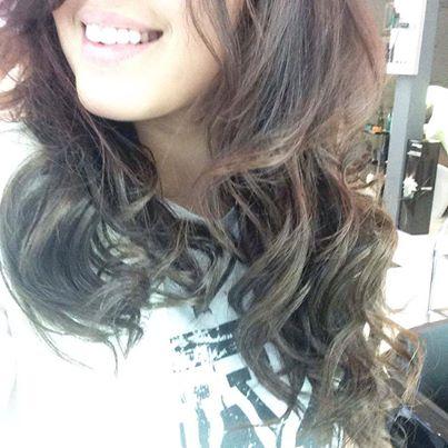 Maude au salon Hair Glam Paris