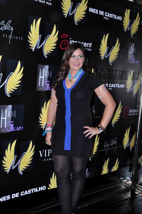 Marion Bartoli à la Soirée de lancement de sa nouvelle marque Wingista