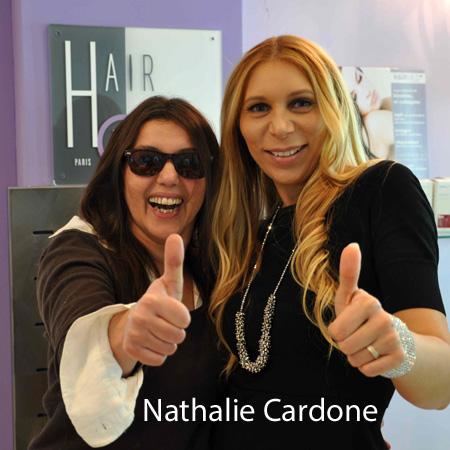 Nathalie Cardone coiffure