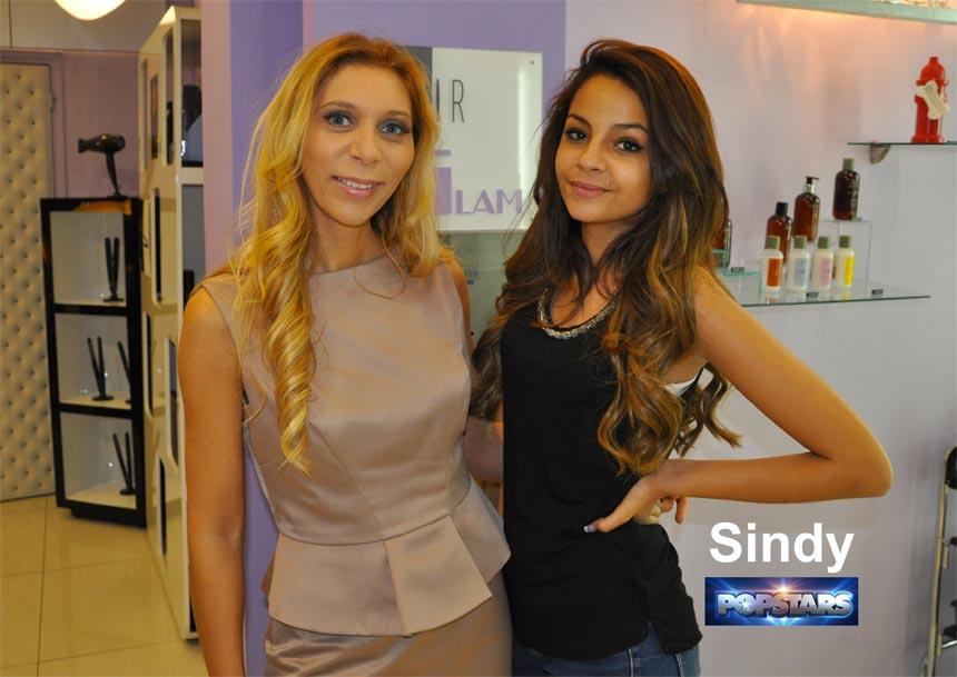 La coiffure de Sindy