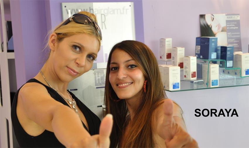 Soraya chez Hair Glam