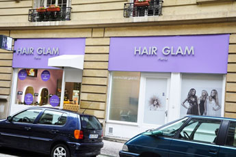 Le Salon Hair Glam est au 1 Av. Alphand dans le 16eme arrondissement à Paris